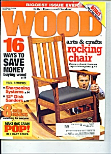 Wood Magazine -  December 2002 (Image1)