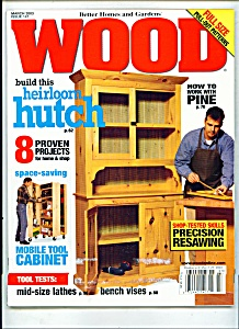 Wood Magazine - March 2003 (Image1)