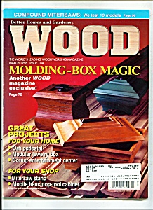 Wood Magazine - March 1998