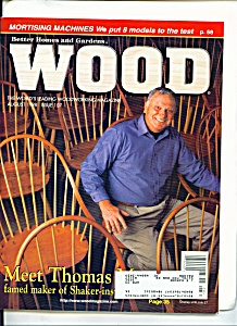 Wood Magazine - August 1998 (Image1)