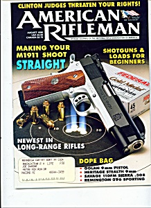 American Rifleman -  August 1996 (Image1)