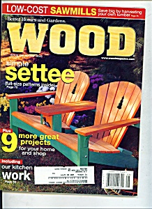 Wood Magazine -  August 2000 (Image1)