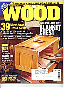 Wood magazine -  March 2007 (Image1)
