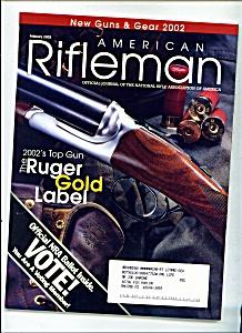 American Rifleman - February 2002 (Image1)