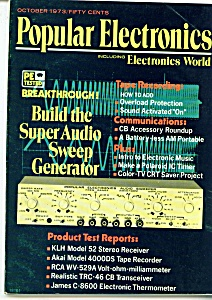 Popular Electronics magazine -  October 1973 (Image1)