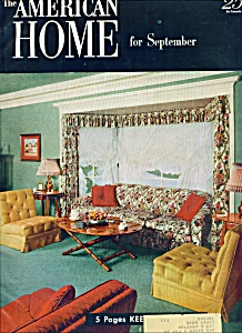 The American Home For September 1952