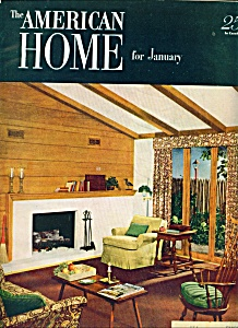 The American Home for January 1951The American Home for (Image1)