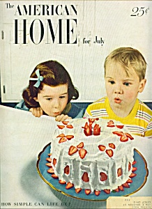 The American Home For July 1949