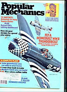 Popular Mechanics - January 1981 (Image1)