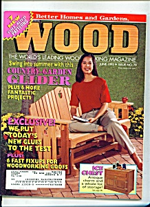 Wood Magazine -  June 1995 (Image1)