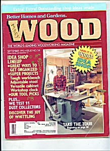 Wood magazine - September 1992 (Image1)