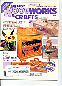 Creative Woodworks & crafts magazine - April 1993 (Image1)