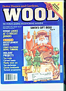 Wood Magazine -  December 1992 (Image1)