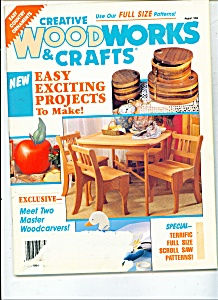 Creative Woodworks &  Crafts -  August 1994 (Image1)