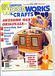 Creative woodworks & crafts magazine -  February 1994 (Image1)