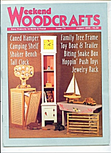 Weekend woodcrafts magazine- August 1992 (Image1)