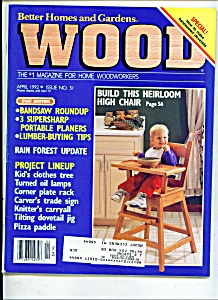 Wood Magazine -  April 1992 (Image1)