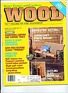 Wood Magazine- June 1992 (Image1)
