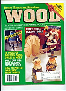 Wood magazine -  November 1992 (Image1)