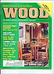Wood Magazine - February 1993 (Image1)
