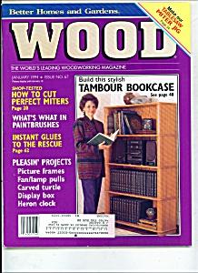 Wood magazine -  January 1994 (Image1)
