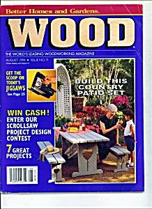 Wood magazine -   August 1994 (Image1)