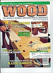 Wood magazine - August 1995 (Image1)