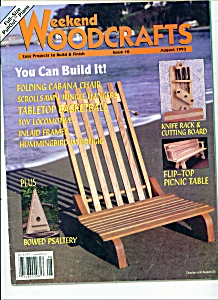 Weekend woodcrafts magazine  - August 1993 (Image1)