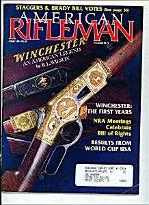 American Rifleman - June 1991 (Image1)