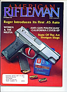 American Rifleman -  November 1991 (Image1)
