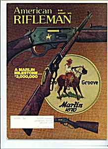 American Rifleman -  August 1979 (Image1)