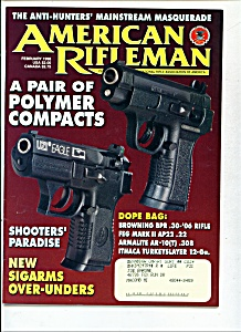 American Rifleman - February 1998 (Image1)