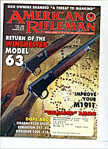 Ameri can Rifleman -  April 1998 (Image1)