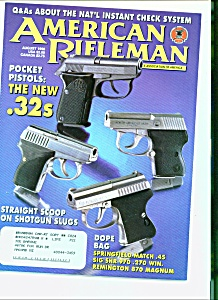 American Rifleman - August 1998 (Image1)