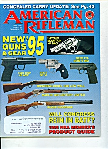 American Rifleman -  April 1995 (Image1)