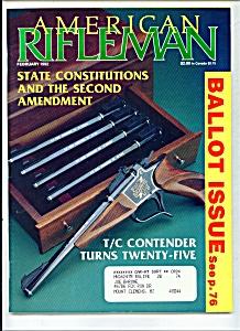 American Rifleman - February 1992 (Image1)