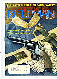 American Rifleman -  August 1992 (Image1)