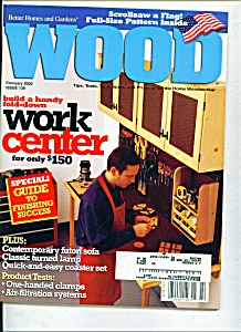 Wood magazine - February 2002 (Image1)