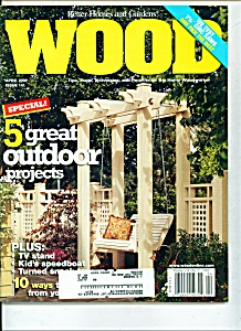 Wood magazine -  April 2002 (Image1)