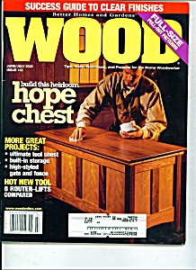 Wood magazine -  June/July 2002 (Image1)