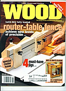 Wood magazine -  November 2004 (Image1)