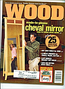 Wood magazine - december/January 2005-2006 (Image1)