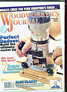 Woodworker's Journal - December 2001 (Image1)