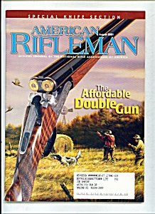 American Rifleman  - August 2001 (Image1)