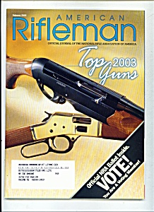 American Rifleman - February 2003 (Image1)
