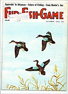 Fur - Fish - Game magazine - October 1969 (Image1)