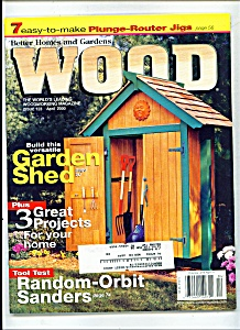 Wood magazine - April 2000 (Image1)