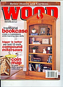 Wood magazine -  March 2001 (Image1)