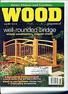 Wood magazine -  June 2001 (Image1)