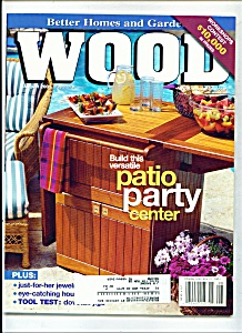 Wood Magazine -  August 2001 (Image1)